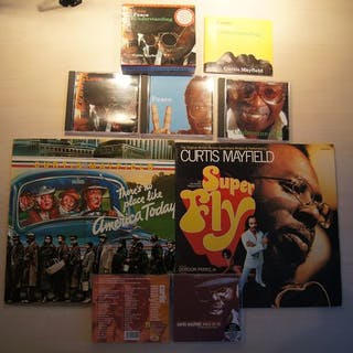 Curtis Mayfield - Diverse Titel - CD, CD Boxset, LP's - 1972/1999