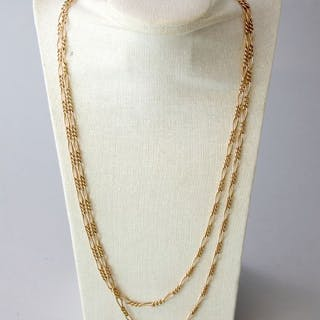 Victorian - 9K Gold - Necklace
