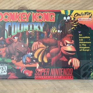 Nintendo USA NTSC - SNESDonkey Kong Country(1) - In original sealed box