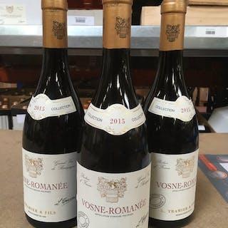 2015 Vosne Romanée, L.Tramier & Fils - Bourgogne - 3 Bouteilles (0,75 L)