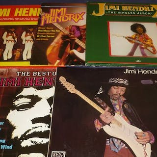 Jimi Hendrix Experience - 5 Albums incl