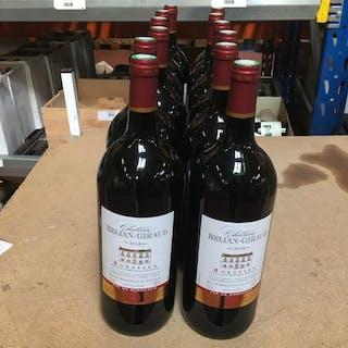 2018 Château Bélian-Giraud- Bordeaux - 12 Magnum (1,5 L)