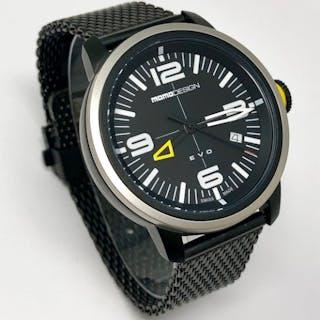 MomoDesign - Watch EVO Black PVD- MD1014BS-10 - Men - BRAND NEW