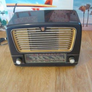 Philips - BX330 A 64 bakeliet - Röhrenradio