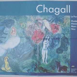 Marc Chagall - Le Paradis - 1961