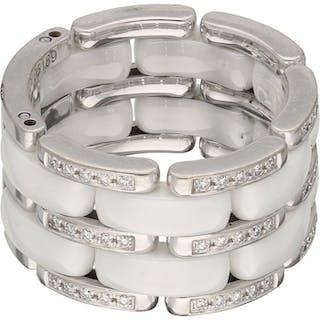 Chanel - 18 kt Weißgold - Ring - 0.37 ct Diamant