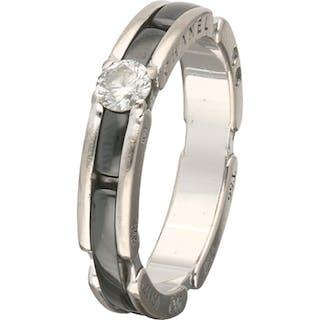 Chanel - 18 kt Weißgold - Ring - 0.20 ct Diamant