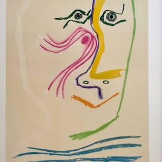 Pablo Picasso - Hommage für Rene Char - 1969