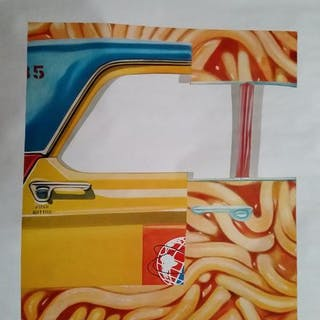 James Rosenquist - Great Ideas of Western Man / Louis B