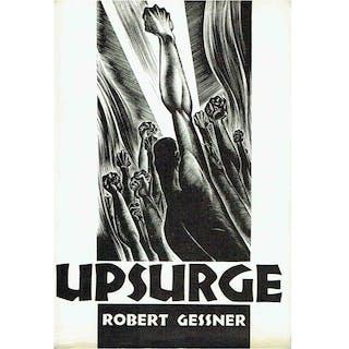 Signed, Robert Gessner - Upsurge - 1933