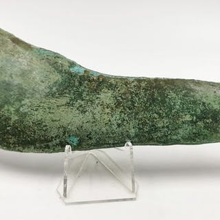 Ancient Bronze Age Bronze Sickle