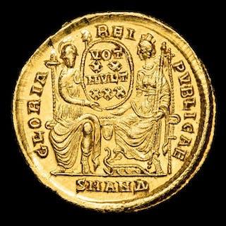 Roman Empire - Solidus- Constantius II (337- 61 A.D.)...