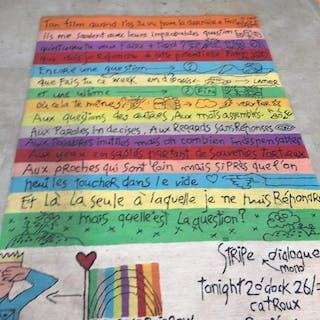 Jean Charles de Castelbajac - ThaiCarpet France  - Tappeto (1) - Stripe Dialoque