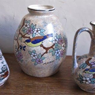 A.Dubois - Vasen (3) - Keramik