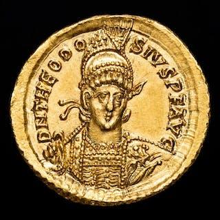 Roman Empire - Solidus - Theodosius II