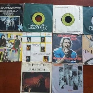 "Boomtown Rats - 10 x 7"" singles in original sleeves..."