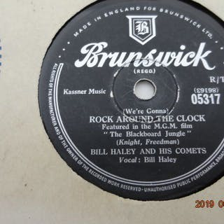 20 x 78RPM-records with Rock'n Roll an Popmusic form the 1950's - Fats Domino