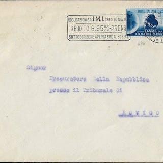 Italien Republik - lot of 7 envelopes franked with...