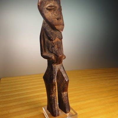 Statuette d'ancêtre - Bois - LEGA - R.D. CONGO
