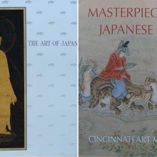 2 Bücher über japanische Kunst (Keramik