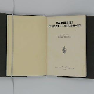 David Hilbert - Gesammelte Abhandlungen- 1932/1935