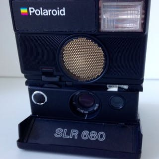 Polaroid SLR 680+ 1 film 600 // Polaroid 1000+2 filme SX-70