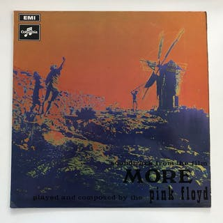 Pink Floyd - More - black/silver label pressing in...