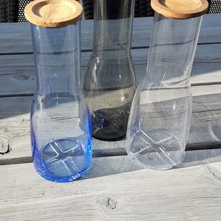 Anna Ehrner- Kosta Boda - Bruk Carafes (3) - Glass