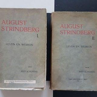 Piet Schepens - August Strindberg. Leven en Werken - 1931/1933