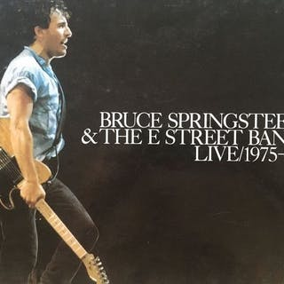 """Bruce Springsteen & the E street Band - """"live/1975-85""""..."""