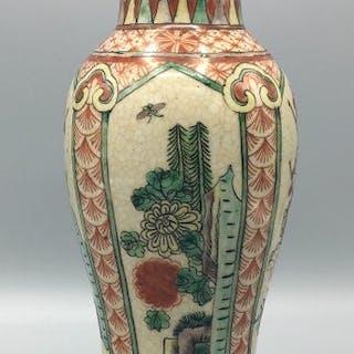 Vaso - Porcellana - Cina - XIX secolo
