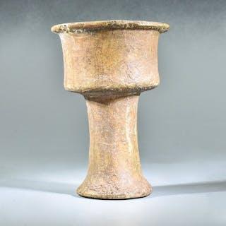 Bactrian Alabaster Ritual Chalice