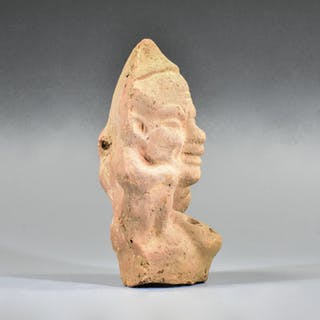Romano-Egyptian Terracotta Grotesque Erotic Oil Lamp