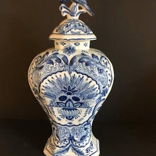 Oud Delft, Nijmegen - vaso con coperchio, altezza 42 cm - Terracotta