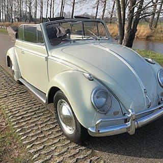 Volkswagen - Kever 1200 Cabriolet - 1958