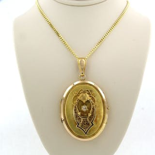14k en 18k Gold - Necklace with pendant