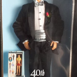Mattel - 40 Anniversary - 50722 - Puppe Ken - 2000-heute