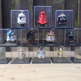 Star Wars - Deagostini- Figur(en) set of 12 Helmets in case