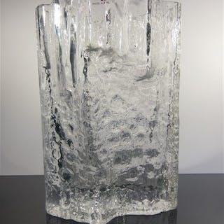Iittala - Tapio Wirkkala - Vaso di vetro ghiacciato - Vetro