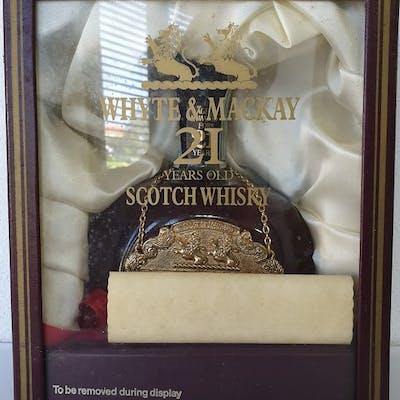 White & Mackay 21 years old - Whyte & Mackay Distillers - 75 cl