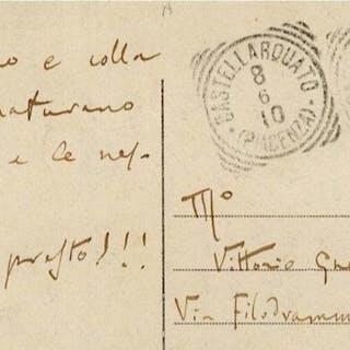 Luigi Illica (Giacomo Puccini's Librettist) - Autograph...