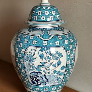Antonio Zilio - Vaso con coperchio - Ceramica di Nove. Bassano