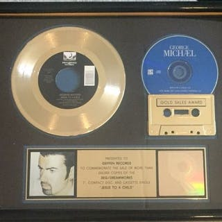 George Michael - Jesus to a Child - RIAA Certified Gold...