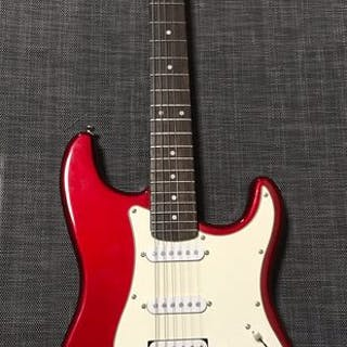 J Hudson & Co - Candy Red Fat Strat - Electric guitar - China - 2005