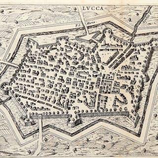 Italia, Toscana, Lucca; Filippo De Rossi - Lucca - 1621-1650