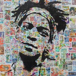 Erik-H - Many stamps for Jean-Michel Basquiat