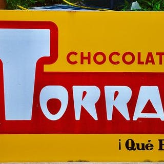 Chocolates Torras - Advertising Board