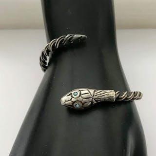 Argent - Bracelet serpent