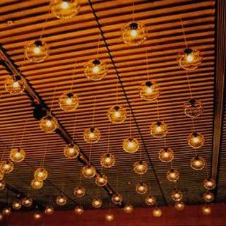 Petrelli Sergio (1954-) - 'Four Broken Bulbs', Geneva, Switzerland