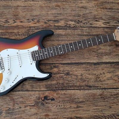 Jim Harley - St model Sunburst - E-Gitarre